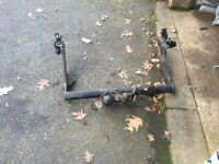 Transit connect tow bar