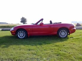 Mazda MX5 Mk2 1.6cc - my car since 2011 - serviced and maintained regardless of cost