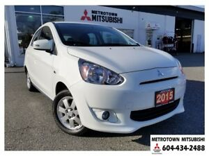 2015 Mitsubishi Mirage SE; Local & No accidents!