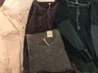 Women's long sleeved cotton tops