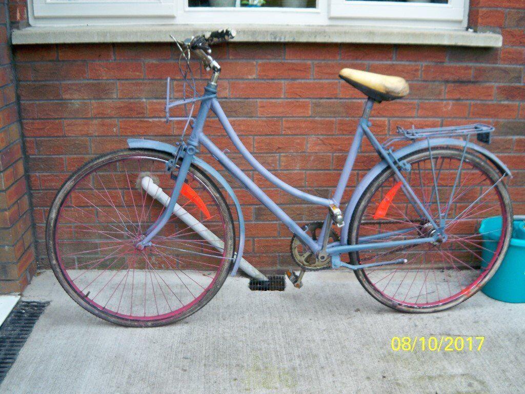 50 yr old stormy archer ladies bicycle