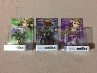 Nintendo Zelda Link Ganondorf Amiibo Switch Breath Of The Wild NEW