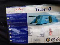 Wynnster Titan 8 berth tent,