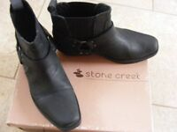 Mens Stone Creek Ankle Boots size 8
