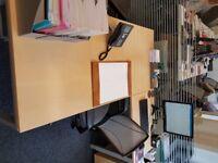 BENE office desk and return