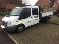 Ford transit double cab tipper px must go asap