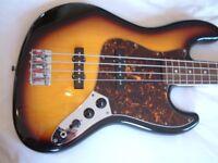 Vester Stage Series electric bass guitar - Korean - '90s - Fender Jazz Bass homage