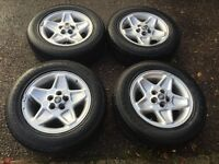 "Land Rover Discovery 2 & P38 18"" Mondial Alloy Wheels And Tyres"