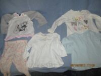 Baby girls clothes. 9 - 12 months