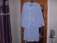 Jacques Vert Pale Blue complete suit size 12