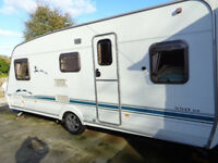 2003 SWIFT CHALLENGER 550 SE with Transverse Fixed Rear Bed