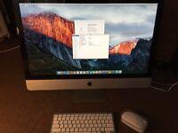 iMac 27 Intel Core i3 3.2GHz (2010) 8GB Ram 1TB HDD wireless keyboard & mouse fully working!