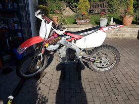 Cr 250 98, great clean bike, extras included, 85 100 125 150 200 250 300 350 450