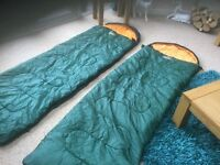 Vango 2 sleeping bags can make double