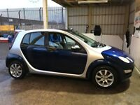 Smart Forfour 1.1 Coolstyle only 40k miles! Excellent!!! 2 brand new tyres. MOT JAN 2019