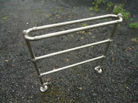 CENTRAL HEATING TOWELL RAIL, GOOD CONDITION. (REDUCED TO £30 FOR QUICK SALE.!!!!)