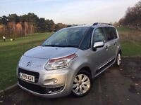 2009/59 CITROEN C3 PICASSO 1.6 HDi EXCLUSIVE**GENUINE 16,000 MILES**LONG MOT**LOOKS & DRIVES GREAT!!