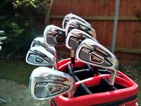 Tour Issue Taylormade PSI Combo irons 3-PW DG X100