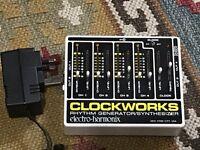 Electro Harmonix Clockworks Rhythm Generator Synthesizer Pedal