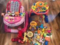 Baby Walk N Rock Walker and Grow and Go Walker, and Toys