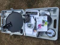 Camping satellite system