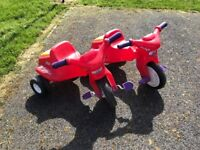 """Little Tikes """"Tough Tyres"""" Trike - 1 still Available"""
