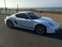 White Porsche 987 Cayman 2007 2.7L R Leather Alloys Stunning Car