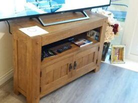 Oak Corner TV Cabinet £140