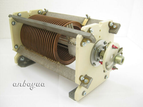 GIANT VARIABLE ROLLER INDUCTOR COIL -RF LINEAR AMPLIFIER -ANTENNA TUNER