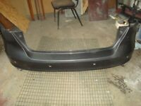 GENUINE FORD FOCUS ST LINE REAR BUMPER WITH PDC HOLES F1EB-17906-A (2013-16)