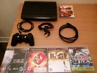 Ps3 SuperSlim 320GB & Games