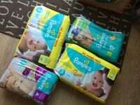 Pampers nappies all size 3 unopened bargain