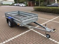 Brand new Faro Tractus 2,63cm side 35 cm car box trailer 750kg