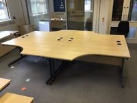 office curve desks x30