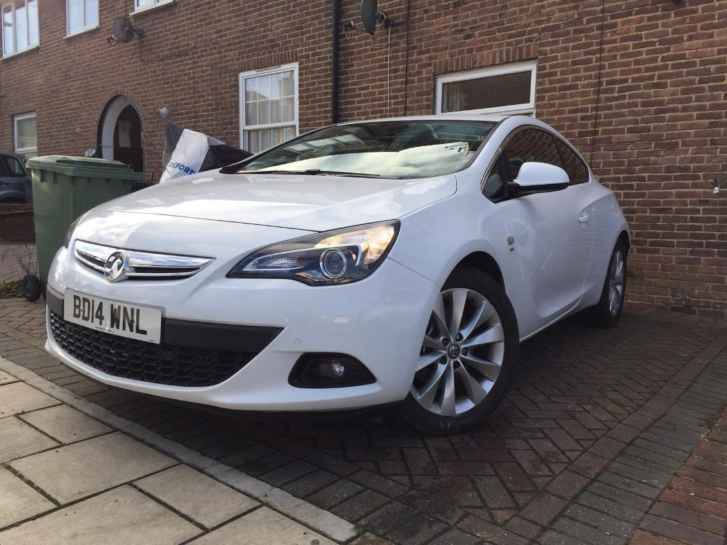 2014 vauxhall astra j gtc sri 1 4 turbo automatic in. Black Bedroom Furniture Sets. Home Design Ideas