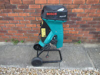 GARDEN CHIPPER MULCHER SHREDDER BOSCH AXT 2000HP