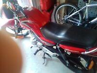 Excellent condition motorbike