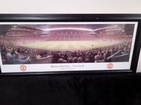 Framed Photograph of Old Trafford - Manchester United