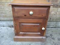 Solid oak small chest