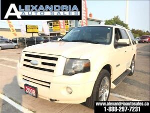 2008 Ford Expedition Limited loaded 8 passengers