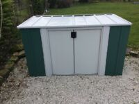 6 x 3 Metal Storette. Flatpack. PICK UP TODAY.