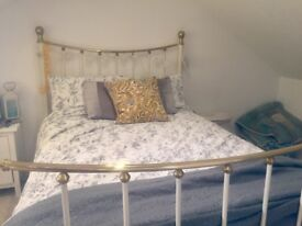 Metal Framed Double Bed For Sale!