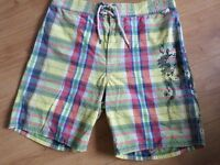 N6 QUALITY DESIGNER SWIMMING SHORTS BY POLO /RALPH LAUREN SIZE LARGE VGC