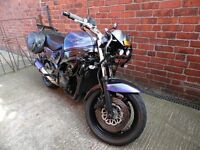 Suzuki streetfighter,mot,loads done,runs+rides great.