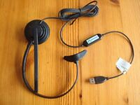 ***Nuance USB Headset Microphone HS-GEN 24 for Dragon Dictate Naturally Speaking***