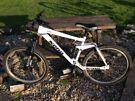Kona mountain bike. Downhill mountain bike
