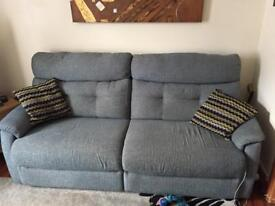Sofa - 2x large two seater