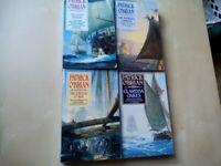SET OF 4 PATRICK O'BRIAN BOOKS