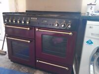 Range master 110 double oven gas cooker