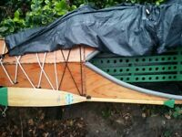 Hand made Canadian style canoe